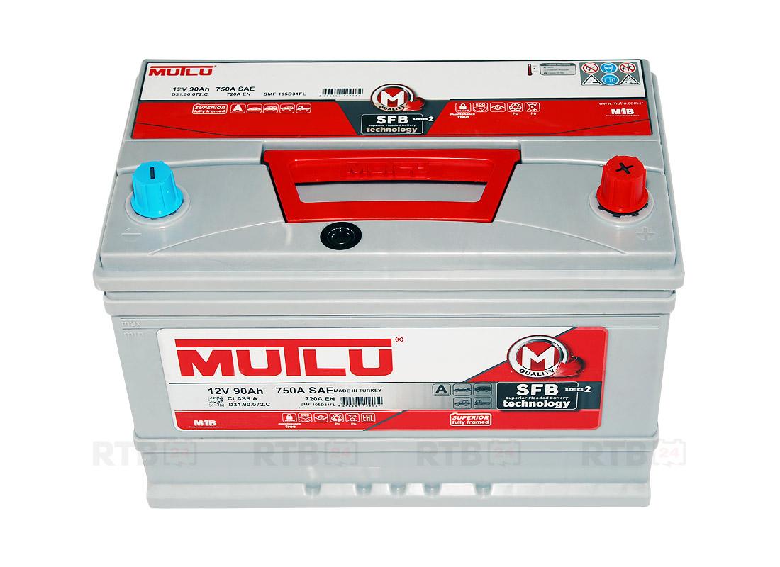 Аккумулятор MUTLU 90Ah 12V 720A D31C