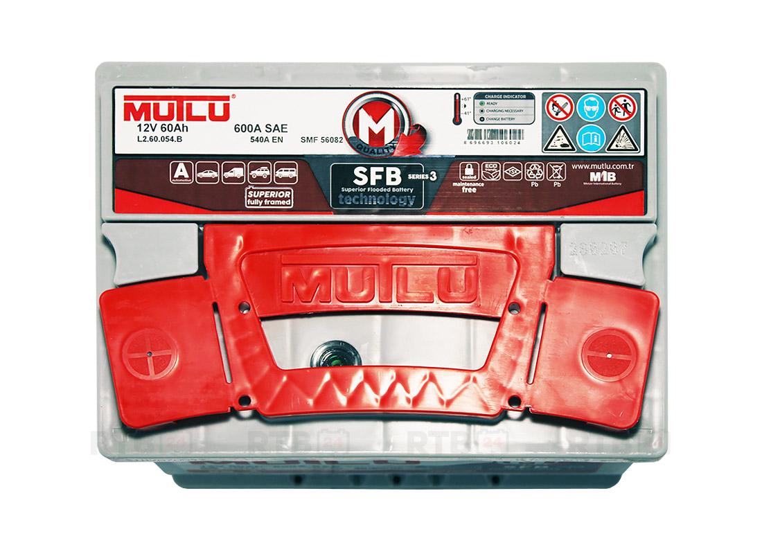 Аккумулятор MUTLU 60Ah 12V 540A L2B