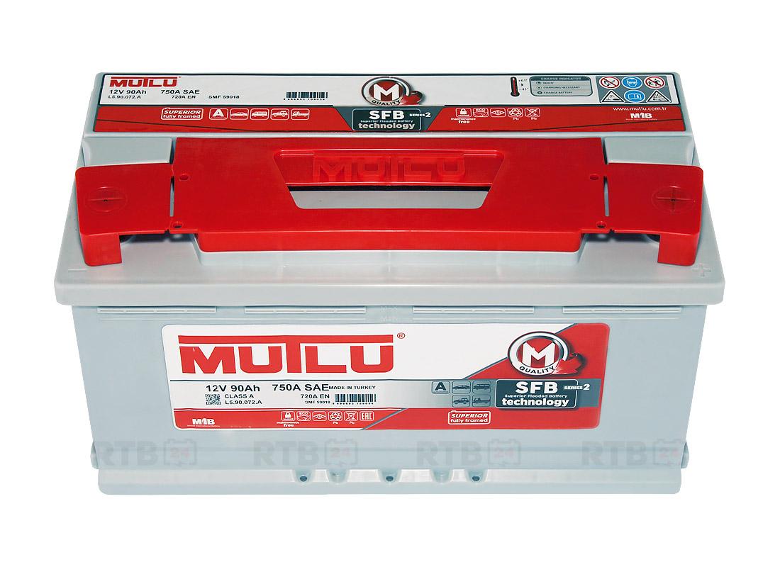 Аккумулятор MUTLU 90Ah 12V 720A L5A