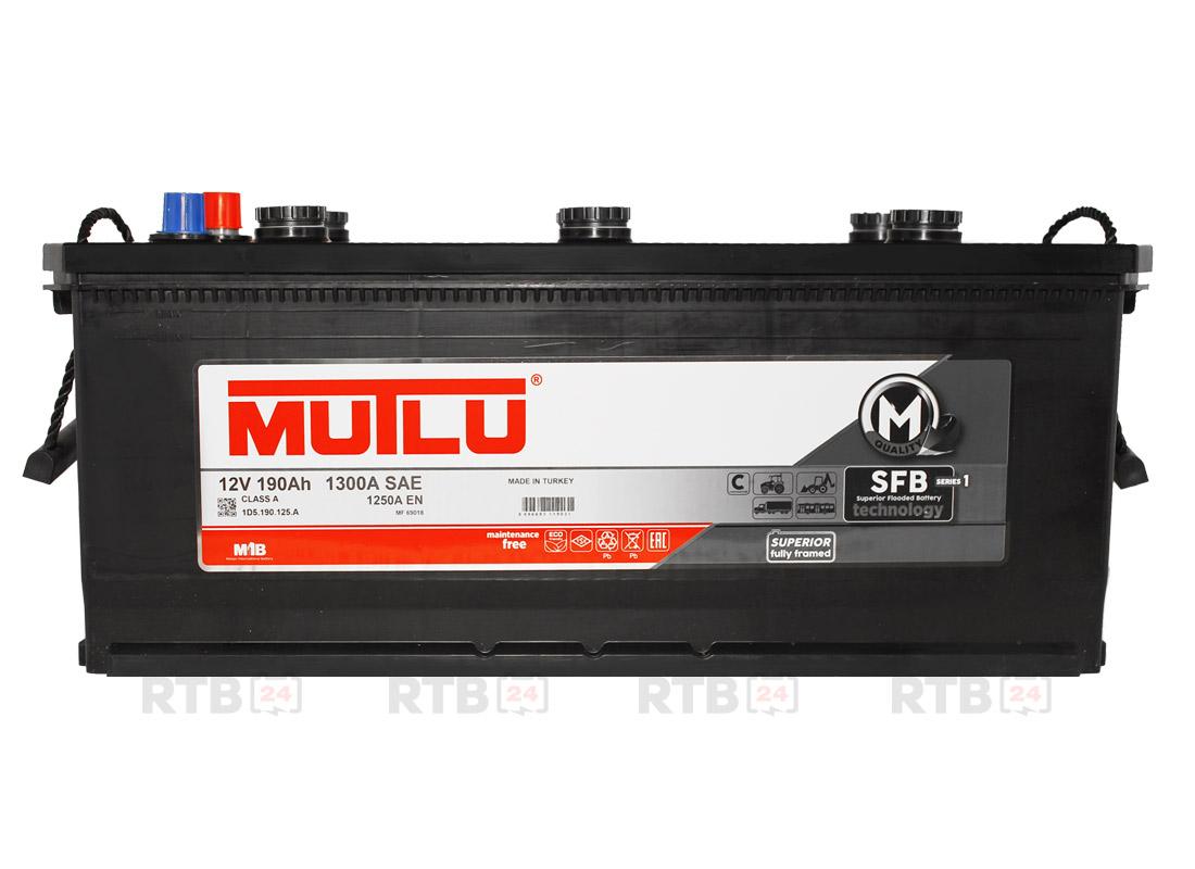 Аккумулятор MUTLU 190Ah 12V 1250A 1D5A