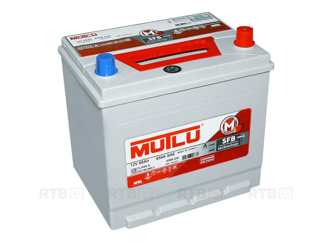 Аккумулятор MUTLU 68Ah 12V 600A D23C