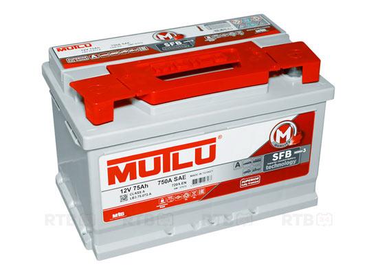 Аккумулятор MUTLU 75Ah 12V 720A LB3A