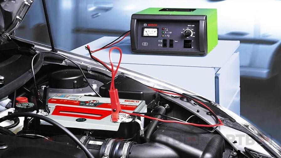 Как заряжать необслуживаемый аккумулятор зарядным устройством